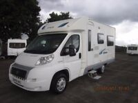 2009 ACE SIENA 2 BERTH MOTORHOME WITH ONLY 35K MILES ANDERSON CARAVAN AND MOTORHOME SALES