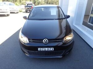2011 Volkswagen Polo 6R MY11 66 TDI Comfortline Black 5 Speed Manual Hatchback Port Macquarie Port Macquarie City Preview