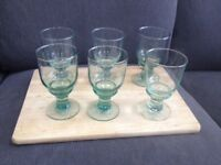 RECYCLED GLASS DRINKING GLASSES