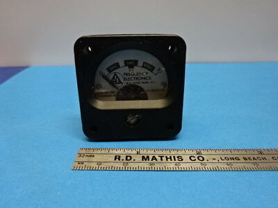 Frequency Electronics Fei Display For Standard Rubidium Cesium As Is 90-08