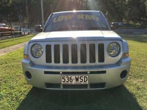 2009 Jeep Patriot MK MY09 Sport Silver 5 Speed Manual Wagon Clontarf Redcliffe Area Preview
