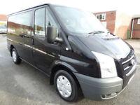 * Finance Me - No VAT * Ford Transit 2.2TDCi 6 Seat Crew Van 260 SWB Trend