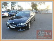 2002 Holden Commodore Vuii SS Black 4 Speed Automatic Utility Warwick Farm Liverpool Area Preview