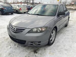 2005 Mazda 3 GT full equip toit ouvrant