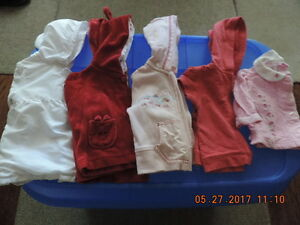 Girl's size 3-6months Hoodies & Jackets
