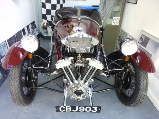 Morgan Super Sports MX2 of 1937 (in burgundy red)