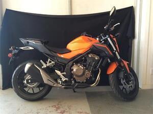 2016 Honda CBR 500F! Bright Orange and Ready to Go!