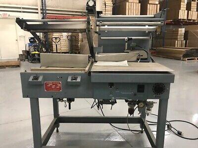 Shanklin S-3c L-bar Shrink Wrap Machine 16 X 16 Seal Area