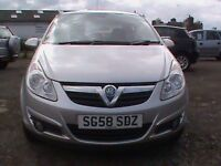 VAUXHALL CORSA 1.4 DESIGN 5 DR SILVER 1 YRS MOT CLICK ONTO VIDEO LINK FOR MORE DETAILS OF THIS CAR