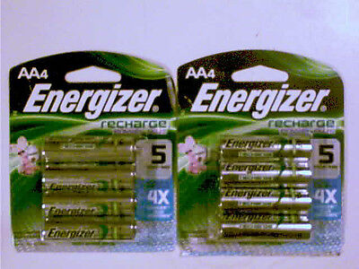 8 ENERGIZER AA NIMH RECHARGEABLE BATTERIES 2300 mAh  on Rummage