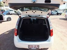 2005 Mitsubishi Colt RG LS White 1 Speed Constant Variable Hatchback Rosslea Townsville City Preview