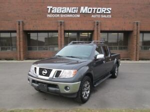 2015 Nissan Frontier SL NAVIGATION LEATHER SUNROOF 4X4 CREW
