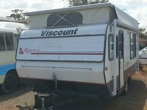1987 Viscount Ultra Lite caravan Caravan Withcott Lockyer Valley Preview