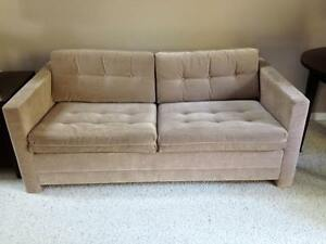 Double Sofa Bed with Simmons Mattress for Sale