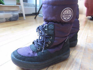 Bottes d'hiver fille - Taille 3