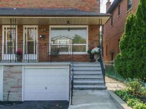 FOR RENT, Large 3 bedroom semi in Trendy East York