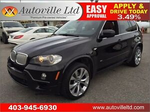 2008 BMW X5 4.8i M PKG 7 PASS ROOF NAVI BCAM 90 DAYS NO PYMT