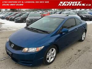 2011 Honda Civic Coupe! Sunroof! New Brakes! A/C! AUX Input!