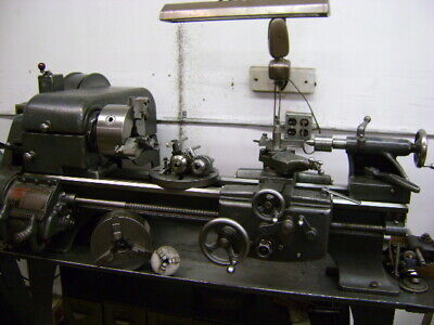 Logan 820 Toolroom Lathe With Accessories 115v1ph Full Machine Shop Excellent