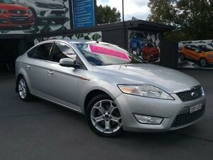 2009 Ford Mondeo MB Zetec Silver 6 Speed Automatic Hatchback Greenacre Bankstown Area Preview