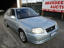 2003 Hyundai Accent LC GL Blue 5 Speed Manual Hatchback West Perth Perth City Preview