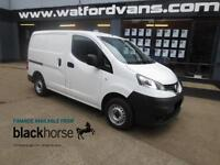 2013 Nissan NV200 1.5DCi SE Twin SLD E/Pack Diesel white Manual
