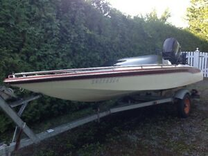 J-Craft Speed Boat / Ski Boat, 16 foot, 115 HP Mercury Outboard