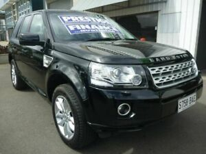 2014 Land Rover Freelander 2 LF MY15 TD4 CommandShift SE Black 6 Speed Sports Automatic Wagon Edwardstown Marion Area Preview