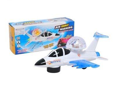 LED LIGHT Kinder Spielzeug neue Spielzeugautos SCHUTTLE SUPER POWER FLÜGZEUG MIT SOUND