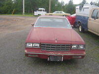 84 monte carlo parting out