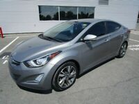 2014 HYUNDAI ELANTRA LIMITED LEATHER NAVI SUNROOF LOADED