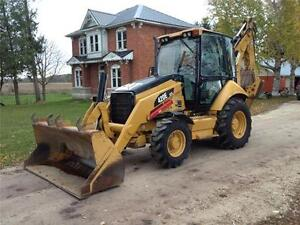 2011 Caterpillar 420 E 4X4 Backhoe