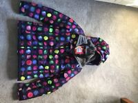 Roxy Girls ski jacket and salopettes