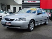 2004 Ford Falcon BA XT Silver 4 Speed Sports Automatic Sedan Garbutt Townsville City Preview