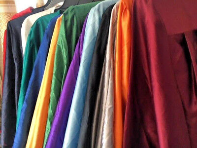 Matte Different Color  Graduation Gown  Choir Robe  Clergy  Theater  Non Brand