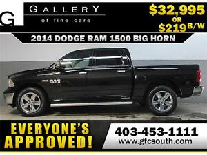 2014 DODGE RAM BIG HORN CREW *EVERYONE APPROVED* $0 DOWN $219/BW