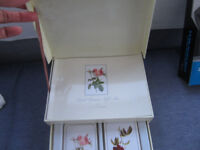 Boxed set of playing cards including instruction book of card games