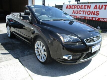 2007 Ford Focus LT Coupe-Cabriolet Black 4 Speed Automatic Cabriolet