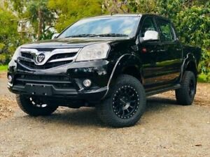 2017 Foton Tunland P201 Luxury Black 6 Speed Automatic Utility Kenwick Gosnells Area Preview