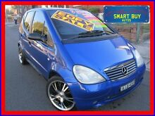2000 Mercedes-Benz A160 Classic Blue 5 Speed Sequential Manual Hatchback Canada Bay Canada Bay Area Preview
