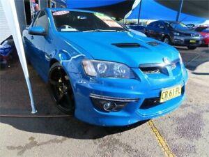 2011 Holden Ute VE II SV6 Blue 6 Speed Manual Utility