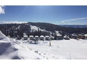 Prime location right on the ski slope at Silver Star mountain