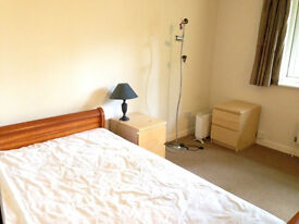 A large double-room with own bathroom and parking