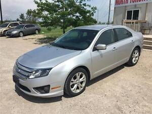 2012 FORD FUSION SE - 4 CYLINDER - AUTOMATIC - ALLOY RIMS