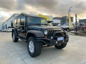 2007 Jeep Wrangler JK Unlimited Sport Black 5 Speed Automatic Softtop Welshpool Canning Area Preview