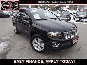 2016 Jeep Compass 4x4!! HEATED LEATHER SEATS!! SUNROOF!!