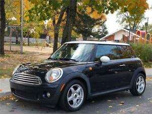2008 MINI COOPER, MANUELLE, 129 000KM, CUIR, PANORAMQUE, MAGS