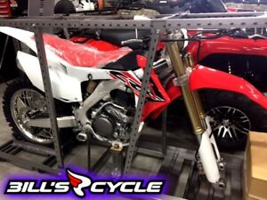 2017 HONDA Competition CRF 250 RH   RR Red