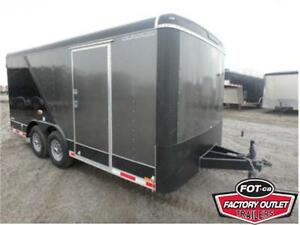 8.5 x 16 HD CARGO TRAILER BY FOREST RIVER - 12,000# GVWR