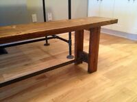 BRAND NEW Rustic Modern Industrial Seating & Tables